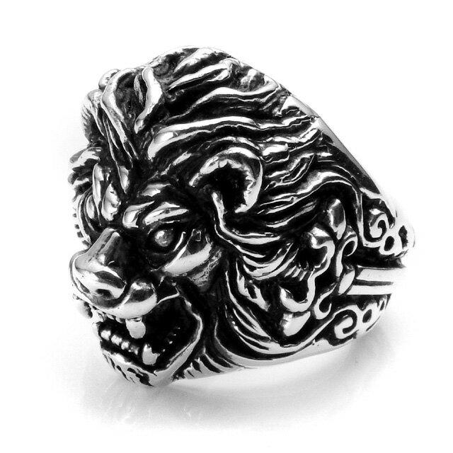 【現貨商品】【Leathers&Treasures】劍獅純銀戒指(LTR133) 0