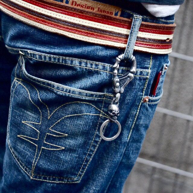 【海外訂購】【MAD CULT】瘋狂骷髏指骨純銀鑰匙圈(MAD-KH-10  0651870000) 5
