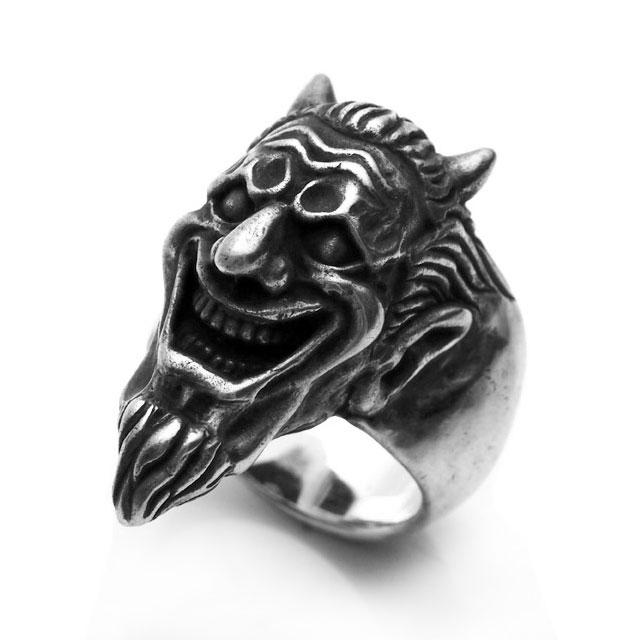 【海外訂購】【MAD CULT】微笑撒旦純銀戒指(MAD-R-17) 0