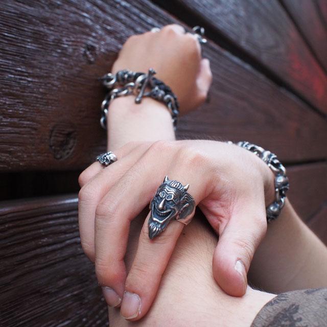 【海外訂購】【MAD CULT】微笑撒旦純銀戒指(MAD-R-17) 1