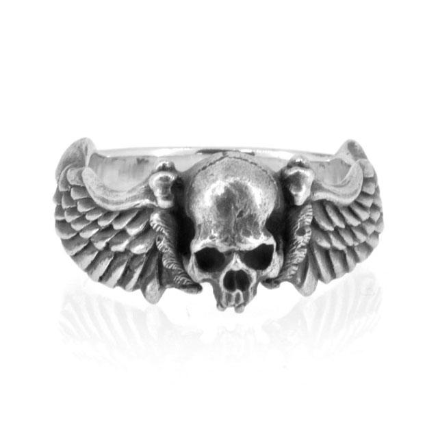 【海外訂購】【MAD CULT】死亡之翼純銀戒指(MAD-R-20) 0