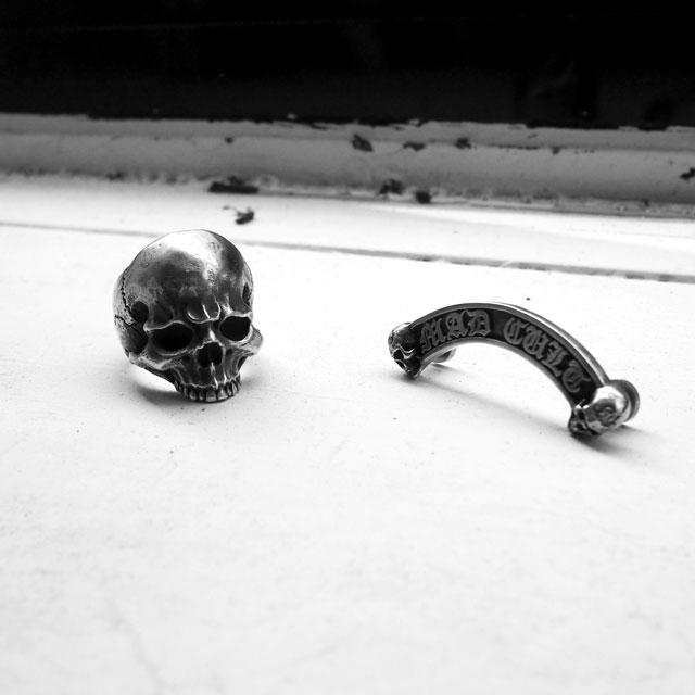 【海外訂購】【MAD CULT】殺戮骷髏純銀戒指(MAD-R-26) 2