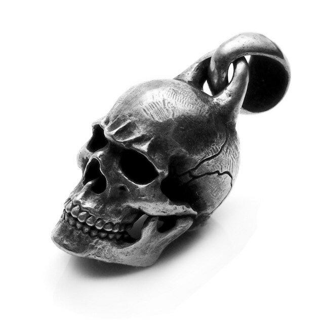 【海外訂購】【MAD CULT】螺旋骷髏純銀墜飾 (MAD-PT-20  0649430000) 0
