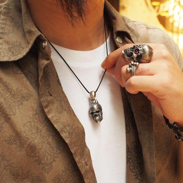 【海外訂購】【MAD CULT】螺旋骷髏純銀墜飾 (MAD-PT-20  0649430000) 5
