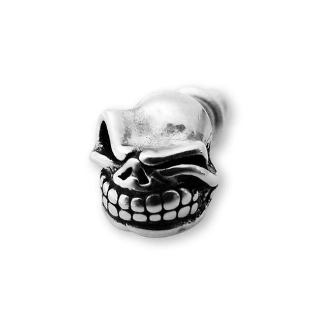 【海外訂購】【STARLINGEAR】Styler 戲謔骷髏純銀耳環(STE001  0121980000) 0