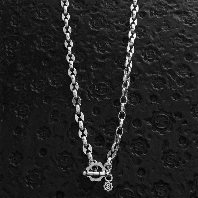 【海外訂購】【STARLINGEAR】大錨鋼鐵純銀項鍊(STN023L-50  012376B500) 0