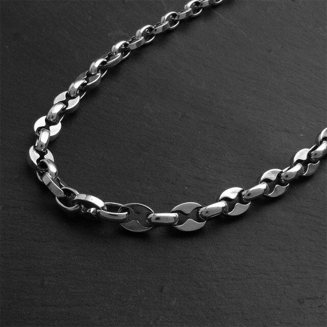 【海外訂購】【STARLINGEAR】大錨鋼鐵純銀項鍊(STN023L-50  012376B500) 1