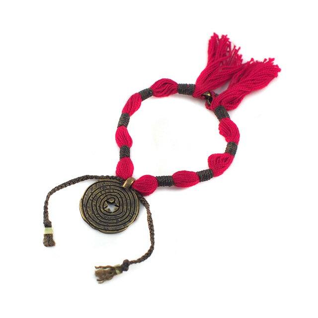 【現貨商品】【wakami】Amuleti 能量民族風蠟繩手環(WA0357  0608510000) - 限時優惠好康折扣