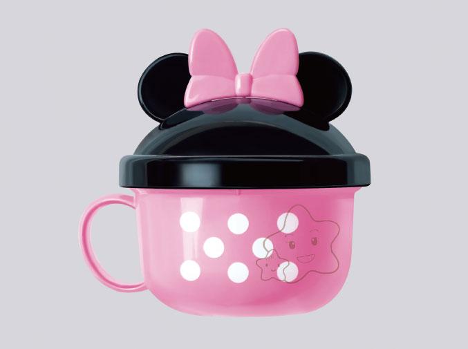 【大成婦嬰】日本超人氣 Disney 米妮零食收納杯系列 (1入) 隨機出貨 0