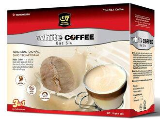 G7三合一即溶白咖啡(20g*12包)*2盒 - 加贈雀巢花式咖啡杯限定活動【合迷雅好物商城】