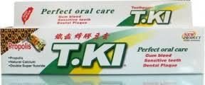 *加贈1條20G蜂膠牙膏*【T.KI】 鐵齒蜂膠牙膏 144G/條 - 限時優惠好康折扣