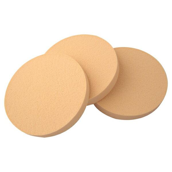 COSMOS A10粉底專用海綿 圓形(3入) S30167《Belle倍莉小舖》