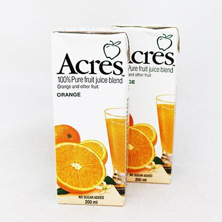 【敵富朗超巿】Acres柳橙綜合果汁-6瓶入(有效日期:2016.11.15)