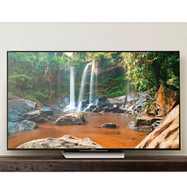 【SONY索尼】85吋 4K HDR 高畫質 LED液晶顯示器/KD-85X8500D