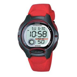 CASIO G-SHOCK LW-200-4A 小巧數位腕錶/白面38mm