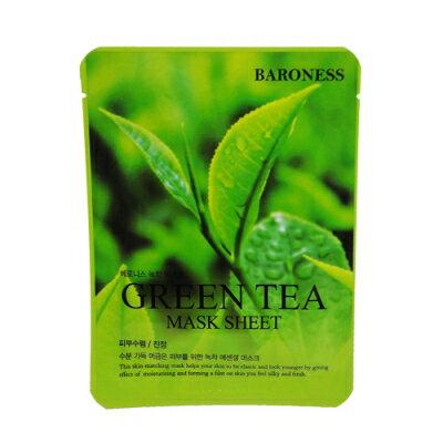 韓國 BARONESS 綠茶面膜 K718