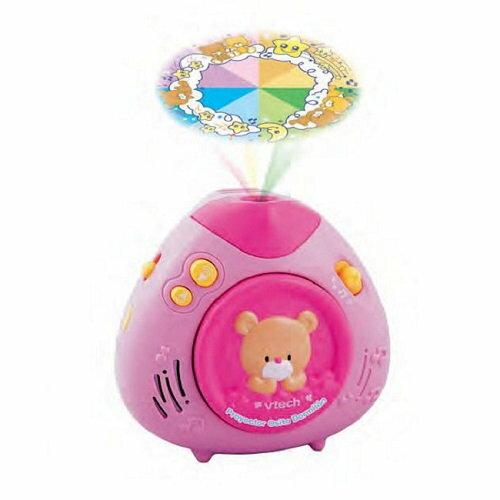 美國【Vtech】寶貝熊床邊音樂投射機(粉紅) 0
