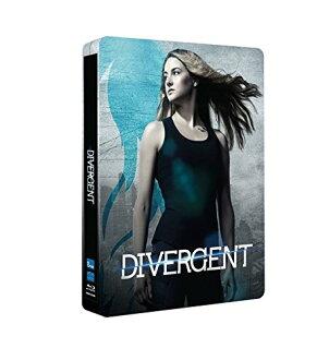 Divergent Blu-Ray Steelbook