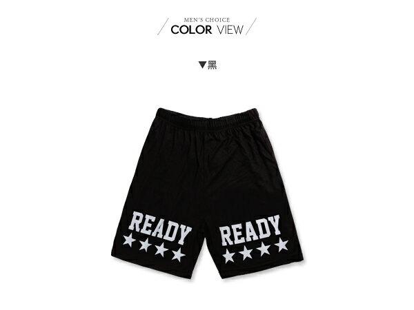 ☆BOY-2☆【KK2541】運動短褲美式潮流休閒星星伸縮READY五分褲 1