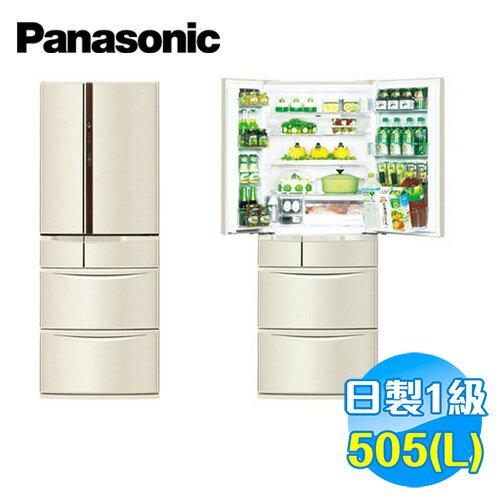 國際 Panasonic 505公升 旗艦ECONAVI六門變頻冰箱 NR-F510VT