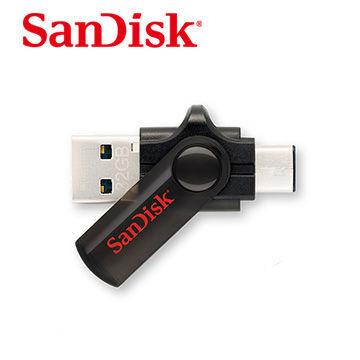 SanDisk C型雙用 USB 隨身碟 32GB 公司貨 (Type C型接口設備適用)