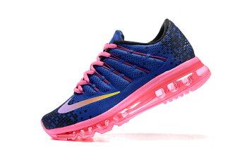 NIKE Air Max 2016 女生氣墊跑鞋 運動鞋 全掌氣墊女子鞋 紫藍粉
