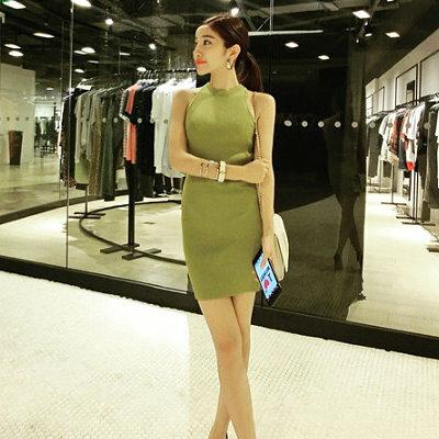 K style 挖肩無袖洋裝連身裙【BQ0201990】