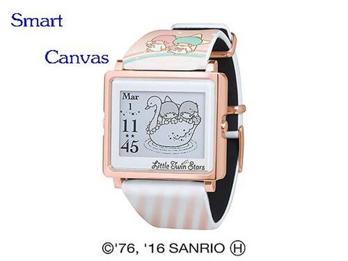 Smart Canvas – Kikilala Rainbow gold 雙星仙子 (玫瑰金) 療癒腕錶