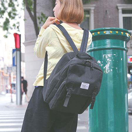 後背包 學院風帆布包電腦包書包【O3131】☆雙兒網☆ 6