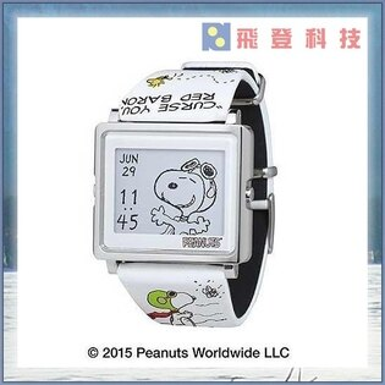 【EPSON療癒系】台灣日本限定款電子錶 Smart Canvas Peanuts Fying Ace 史努比-王牌  4種模式 不鏽鋼機身 電力長達3年 公司貨含稅開發票