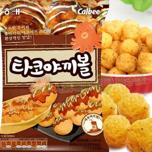 韓國海太 calbee 章魚燒球/玉米餅乾 [KR258] - 限時優惠好康折扣