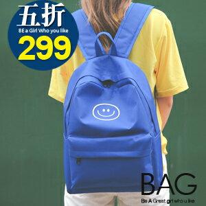 B.A.G*現+預*【BT-SM】閨蜜笑臉首選後背包(現+預)-4色