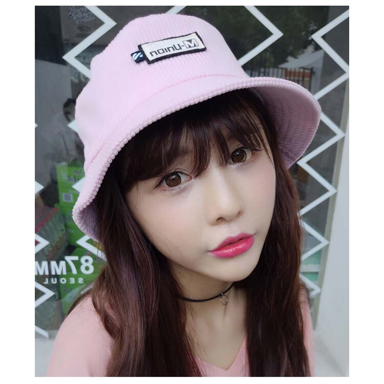 漁夫帽 貼布 遮陽帽 絨 素色 漁夫帽【QI8513】 BOBI  09/01 1