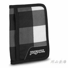 [ JANSPORT ] 護照套 黑白格 / 証件包 / 出國旅行 / 公司貨 JS-43061J4SN