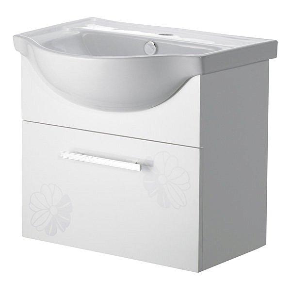 花漾防水陶瓷浴櫃組 56CM 『貨到付款免運費搬上樓』