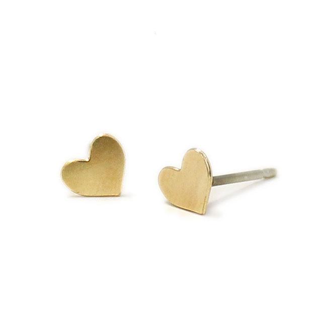 【海外訂購】【Kris Nations】金色愛心手工耳環(E1-charm-G-Hearts  0866180000) 0