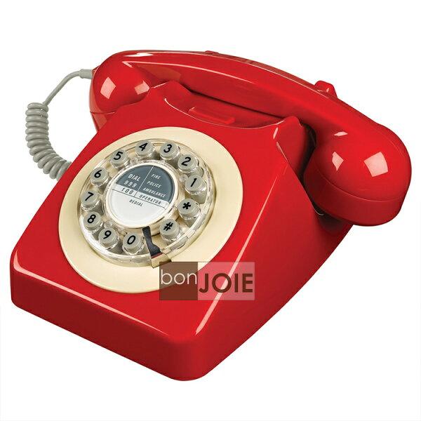 ::bonJOIE :: 746 Phone 1960's 經典懷舊復古電話機 (箱子紅) 經典電話 懷舊電話 復古風格 美式鄉村 工業風 設計師款 桌上電話