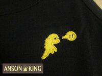 agnès b.到[Anson king]outlet國外代購 agnes b.sport b 黃色小恐龍 無袖 圓領 男款 T恤 背心 黑