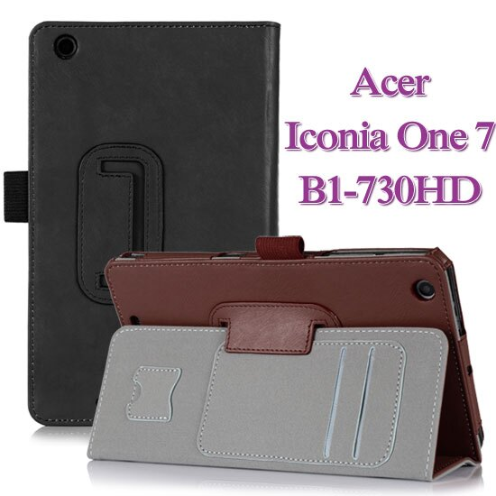 【手托】宏碁 Acer Iconia One 7 B1-730HD 牛皮紋皮套/專用平板保護套/書本式翻頁帶筆插/立架展示斜立~出清特惠