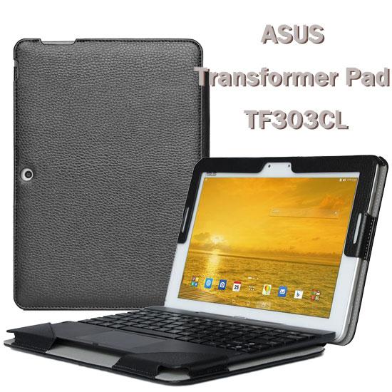 【全機+基座保護套】華碩 ASUS Transformer Pad TF303CL 平板專用 K014 皮套/帶鍵盤套書本式保護套