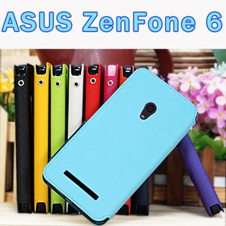 【Roar】華碩 ASUS ZenFone 6 A600CG/A600 T00G/Z002 視窗皮套/側翻手機套/支架斜立保護殼/翻頁式皮套