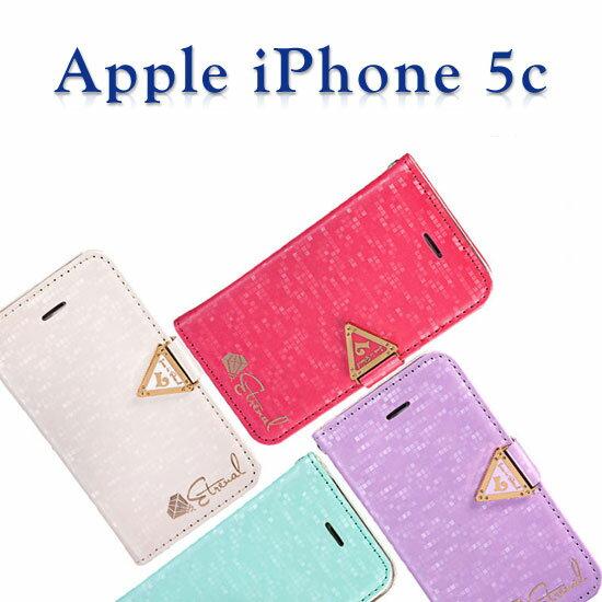 【永恒系列】雷爾仕 Apple iPhone 5C 翻頁式皮套/側掀保護套/側開插卡手機套/反扣支架保護殼-促銷出清