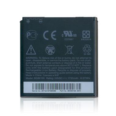 【原廠電池】HTC EVO 3D X515e BG86100 BA S590 原廠電池/原電/原裝電池-裸裝
