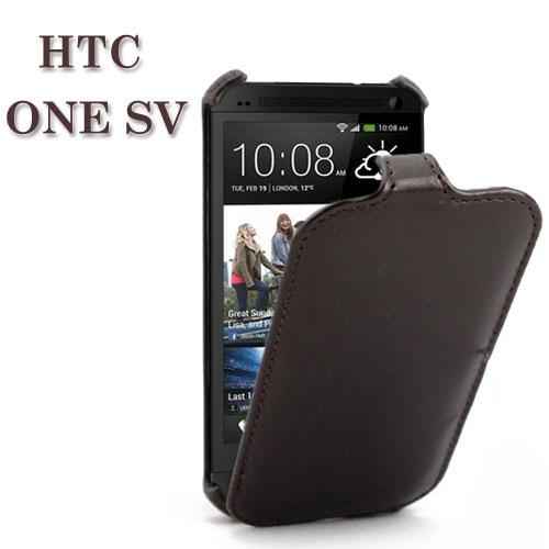【特惠出清】HTC ONE SV C520e T528t 瘋馬紋上掀式皮套/保護皮套/上下開保護套/熱定型
