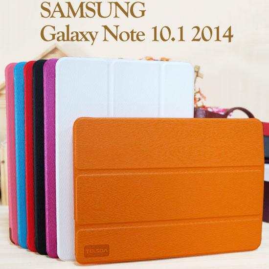 【免運~三折、透明殼】三星 SAMSUNG Galaxy Note 10.1 2014 P6000 P6050 木紋書本式皮套/P600平板專用保護套/斜立展示~清倉