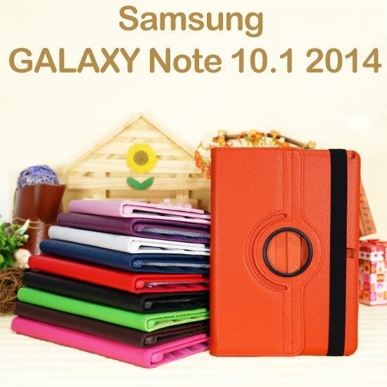 【免運~旋轉、斜立】三星 SAMSUNG Galaxy Note 10.1 2014 P6000 P6050 平板專用 荔枝紋皮套/書本式保護套/側掀支架展示~清倉