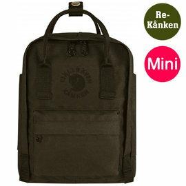 【鄉野情戶外用品店】Fjallraven |瑞典| Re-Kanken Mini 小狐狸背包/方型書包 方型背包/23549 《深橄綠》