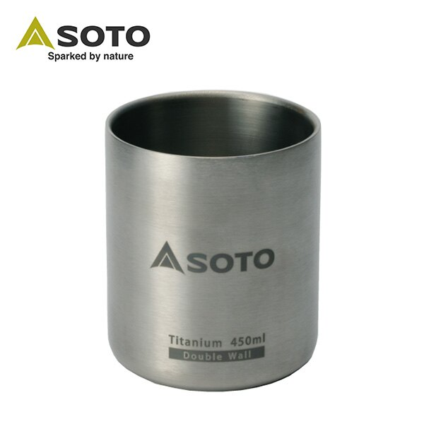 SOTO 鈦合金真空保溫杯ST-AM45 0