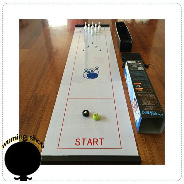 『無名』 桌上 保齡球 親子遊戲 冰棍球 曲棍球 沙壶球 沙狐球 過年 桌遊 互動遊戲 冰球 尾牙 K01102
