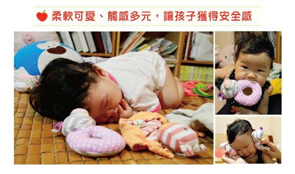 『121婦嬰用品館』OFB 手搖鈴啃咬玩具 - 小豬佩妮 4